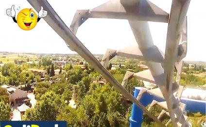 Аттракцион BLUE TORNADO парк