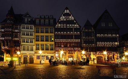Ночной Франкфурт фото Виталия