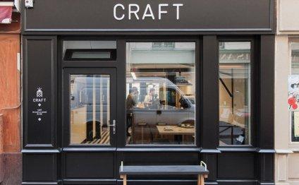 Оформление кафе Craft придётся