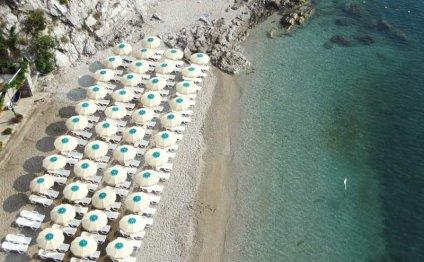 Четара, пляж отеля Cetus 3*