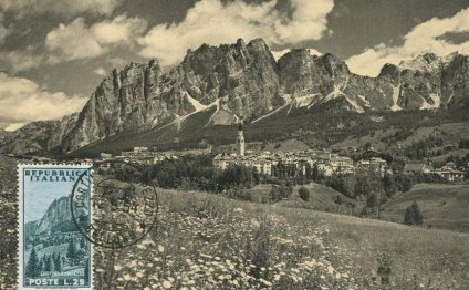 1954. ИТАЛИЯ - картмаксимум